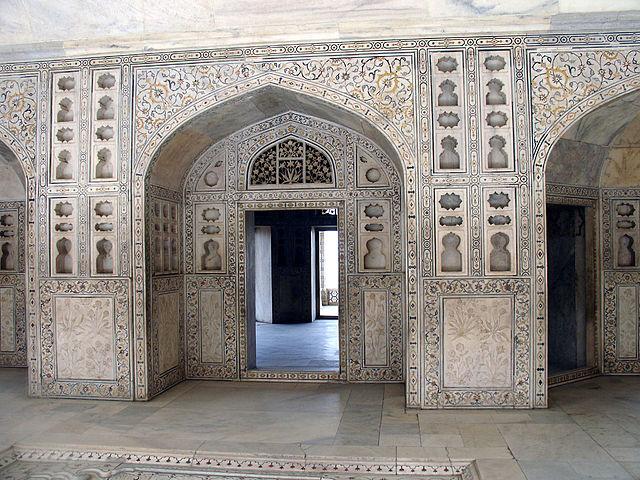 Pietra dura in Agra
