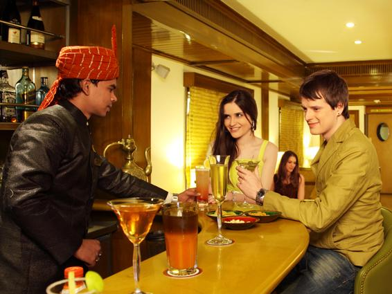 Leisure in Lavishness in Luxurious Lounges of Maharajas' Express