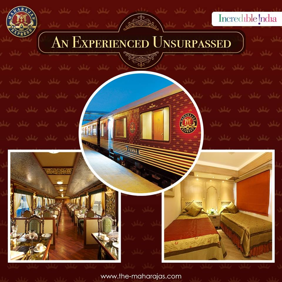Discover India's Rich Heritage with a Maharajas' Express booking