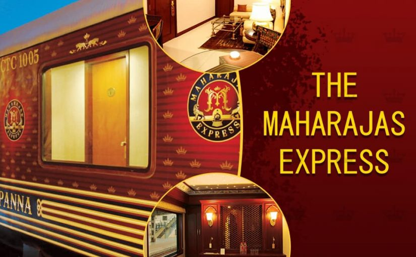 Discover the best of India's heritage with a Maharajas' Express Train tour package